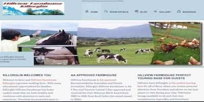 Tralee Web designer created<br /><br /><br /><br /><br /><br /> Ryebrook House b&b Killarney Tralee Web